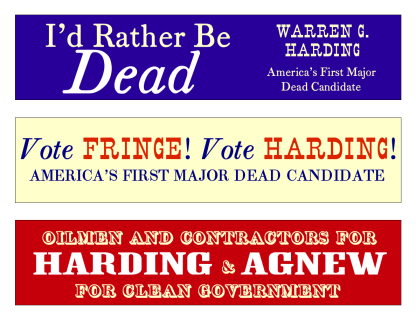 http://drboli.files.wordpress.com/2008/08/harding-agnew-bumper-stickers.pdf