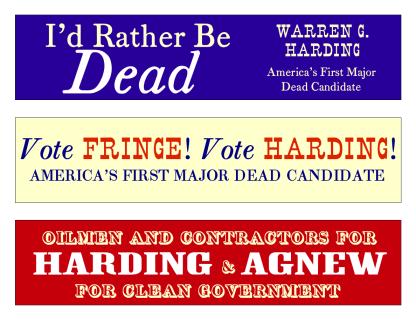 http://drboli.files.wordpress.com/2008/08/harding-agnew-bumper-stickers.pdf