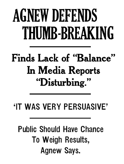 agnew-defends-thumb-breaking