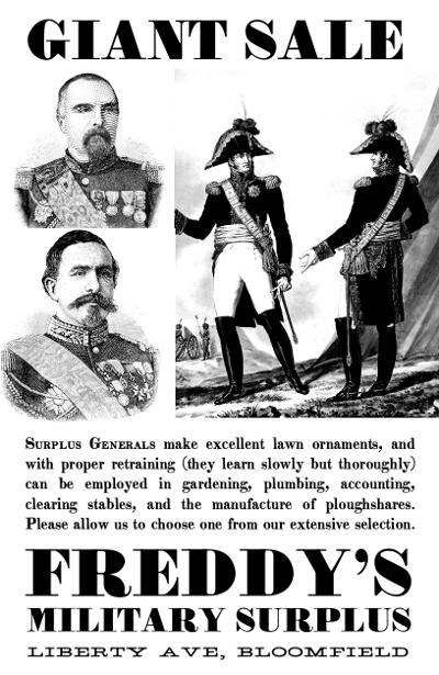 Surplus-Generals