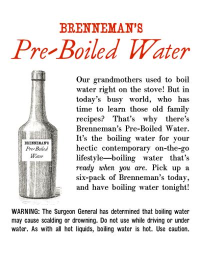 Pre-Boiled-Water