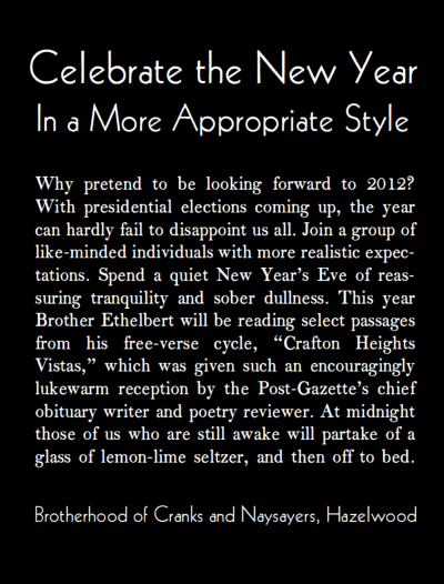 Mad Minerva 2 0 Satire Alert How To Celebrate New Year S Eve